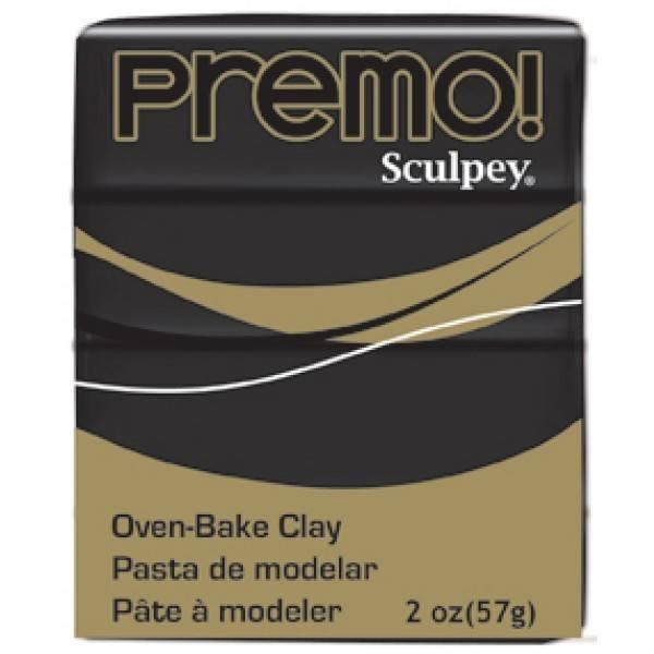 Polyform Premo Sculpey Black 2oz