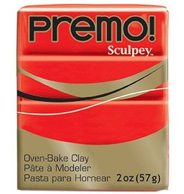 Polyform Premo Sculpey Cadmium Red 2oz