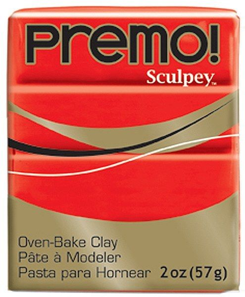 Polyform Premo Sculpey Cadmium Red 2oz
