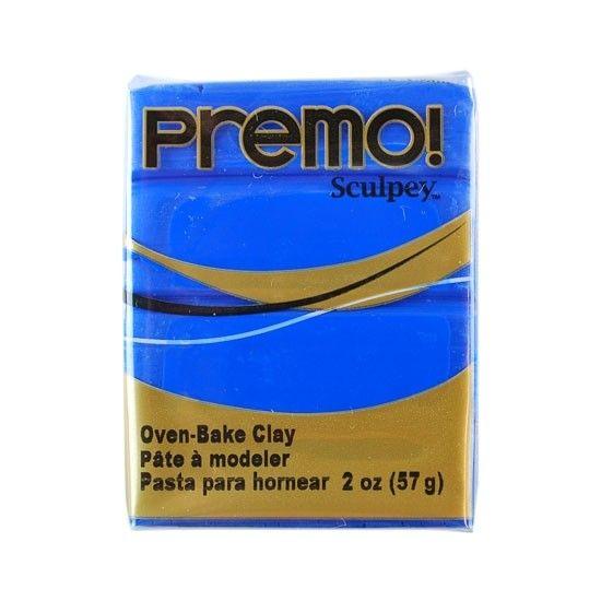 Polyform Premo Sculpey Cobalt Blue 2oz
