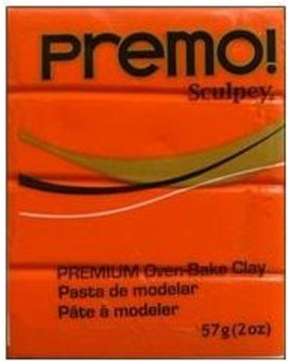 Polyform Premo Sculpey Orange 2oz