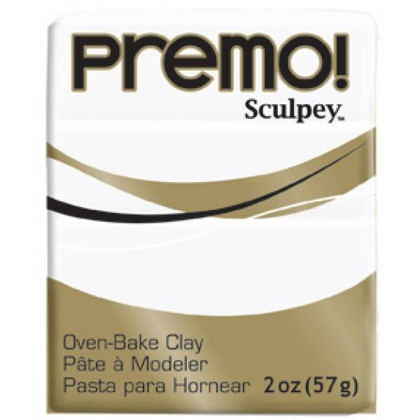 Polyform Premo Sculpey White 2oz