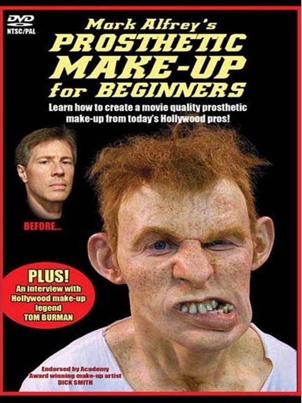 Prosthetic Make up Mark Alfrey DVD