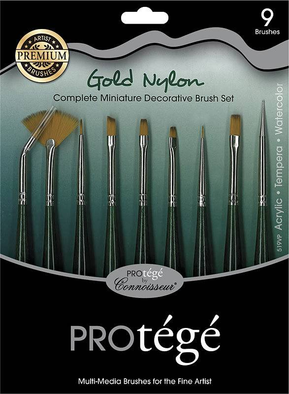 Protege 9pc Brush Set