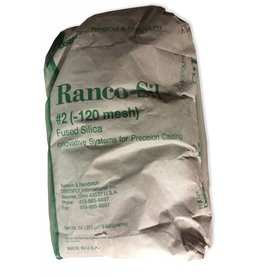 Ransom & Randolph Ranco-Sil #2 120 55lb Bag Medium Fused Silica