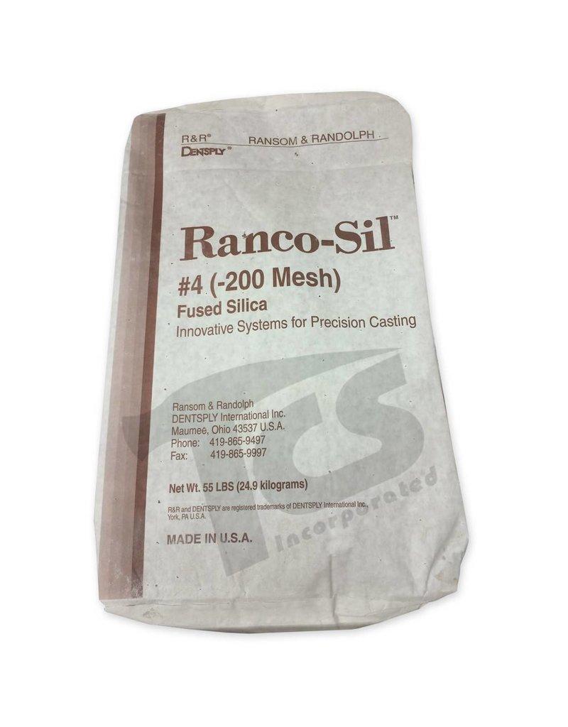 Ransom & Randolph Ranco-Sil #4 200 55lb Bag Fine Fused Silica