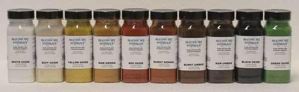 SAM Dry Pigment Raw Umber 4oz