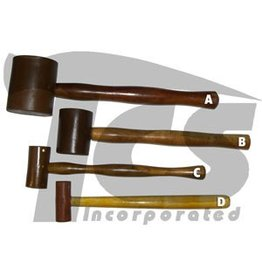 Just Sculpt Rawhide Leather Mallet 1''