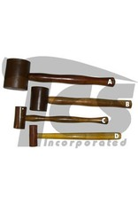 Just Sculpt Rawhide Leather Mallet 2''