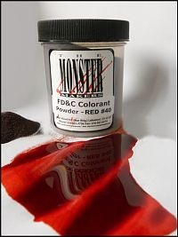 Monster Makers Red Food Coloring 4oz