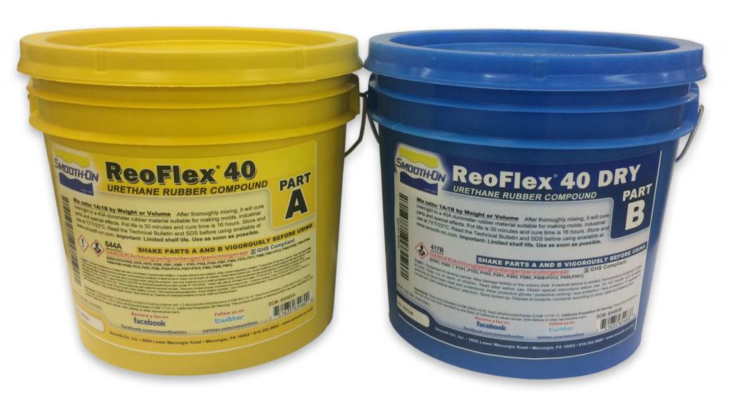 Smooth-On ReoFlex 40 Dry 2 Gallon Kit
