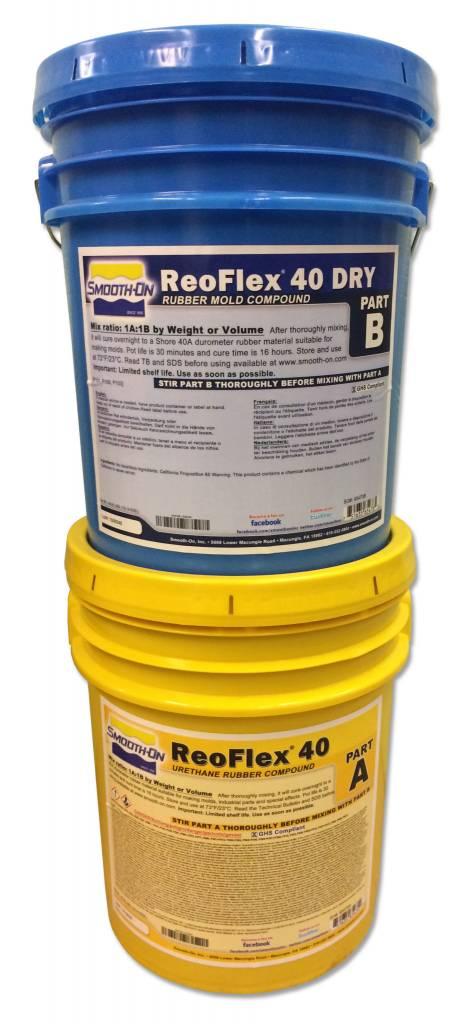 Smooth-On ReoFlex 40 Dry 10 Gallon Kit