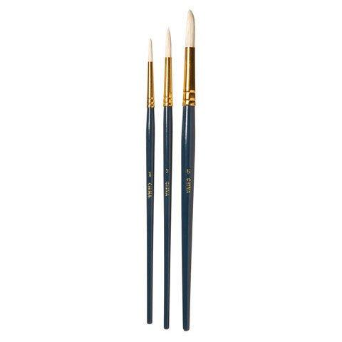 Round Brush Set #1,3,5