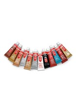 Amaco Rub'nBuff 12pc Sampler