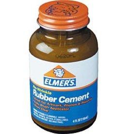 Elmer's Rubber Cement 4oz