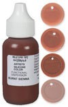 SAM Silicone Dispersion Burnt Sienna 1oz