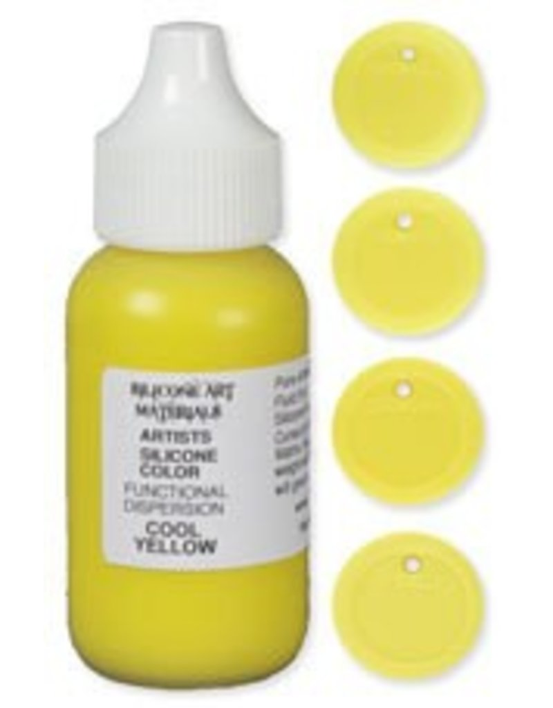 SAM Silicone Dispersion Cool Yellow 1oz