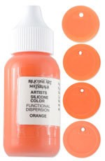SAM Silicone Dispersion Orange 1oz