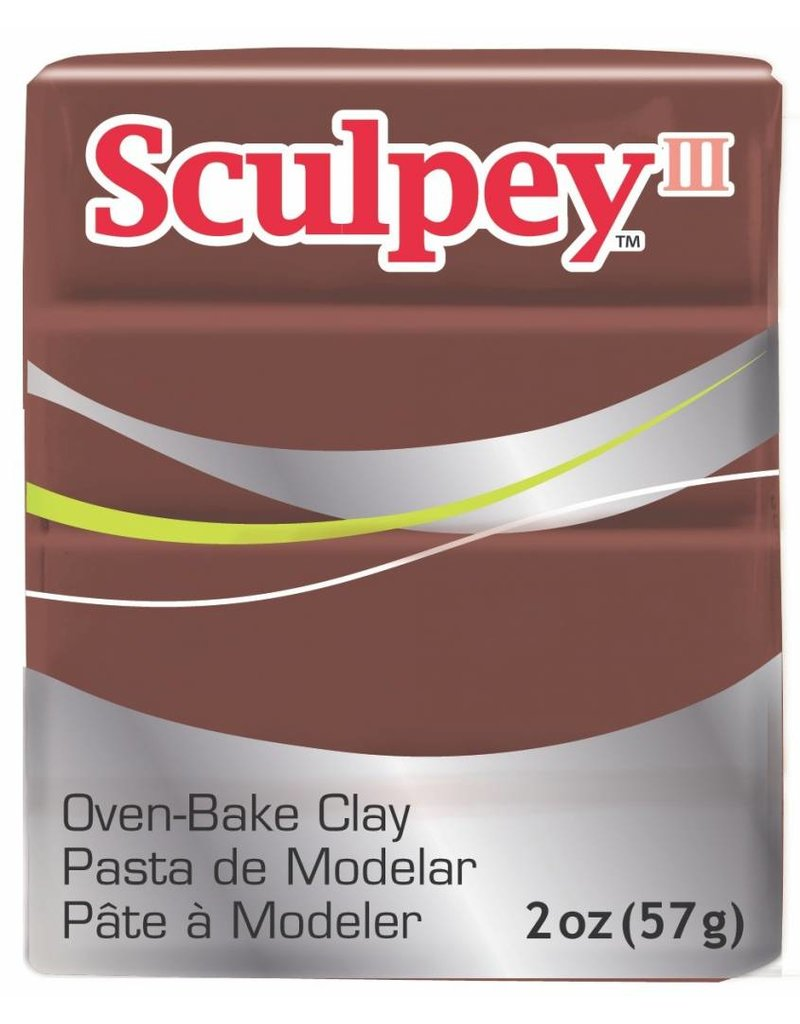 Polyform Sculpey III Chocolate 2oz