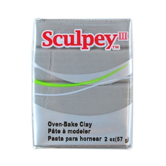 Polyform Sculpey III Elephant Gray 2oz