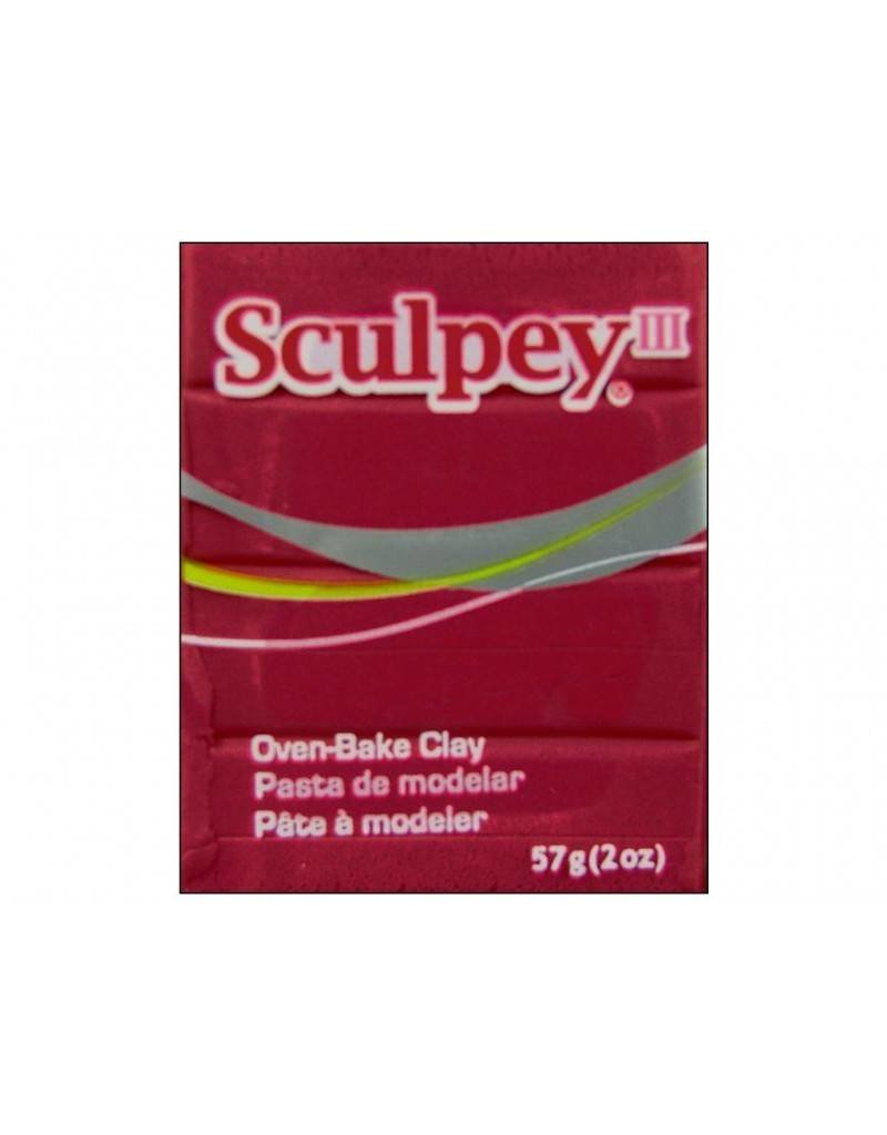 Polyform Sculpey III Red 2oz