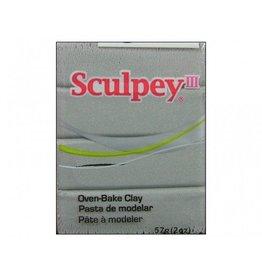 Polyform Sculpey III Silver 2oz