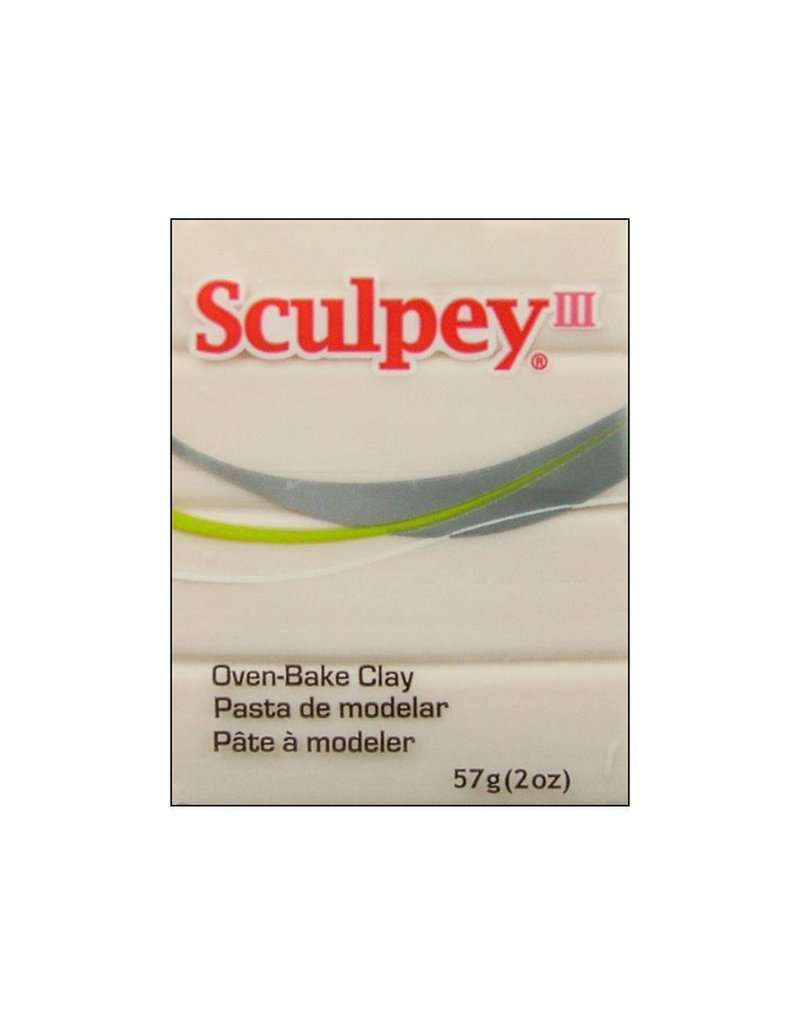 Polyform Sculpey III Translucent 2oz