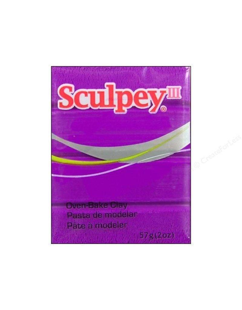 Polyform Sculpey III Violet 2oz