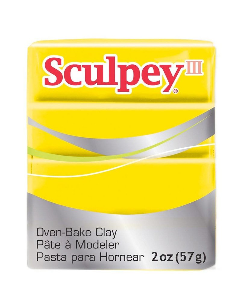 Polyform Sculpey III Yellow 2oz