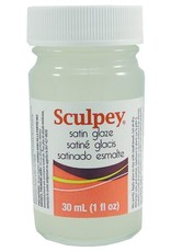 Polyform Sculpey Glaze Satin 1oz
