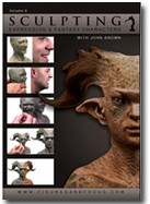 Sculpting Fantasy Characters John Brown DVD #8 Part 1