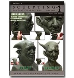 Sculpting Fantasy Characters John Brown DVD #8 Part 2