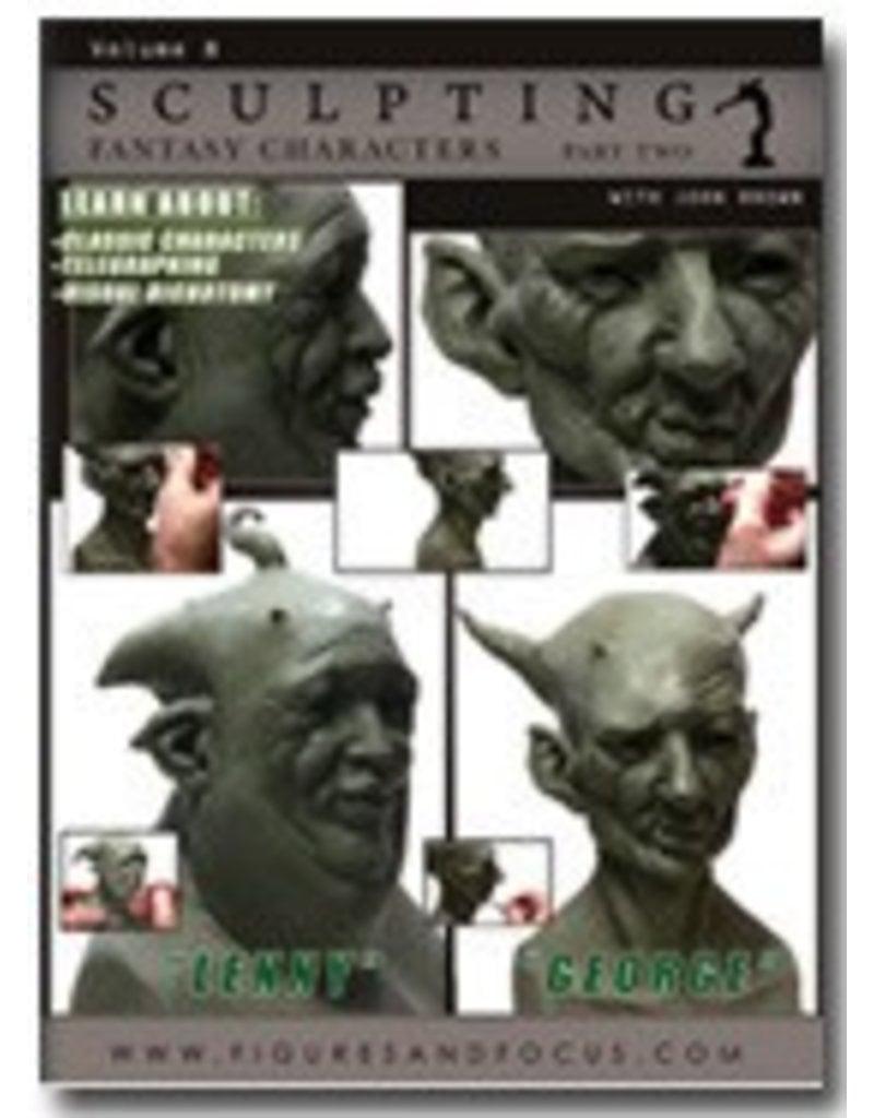 Sculpting Fantasy Characters John Brown DVD #8 Part 2
