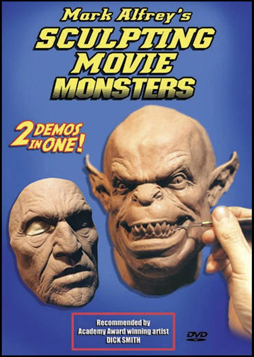 Sculpting Movie Monsters Mark Alfrey DVD