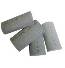 Just Sculpt Silicon Carbide Hand Rubbing Stone Halfround 320 Grit