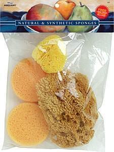 Just Sculpt Silk Set Natural Sponges
