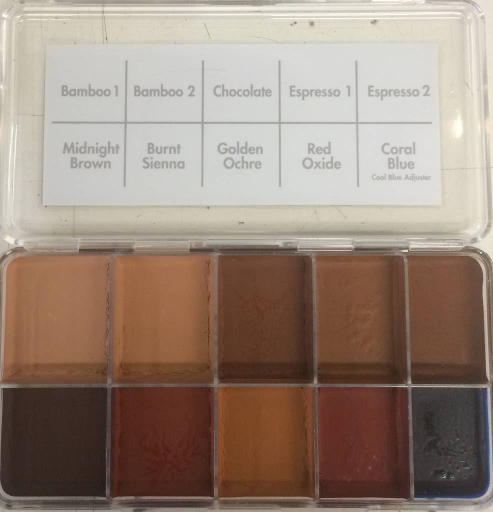 PPI Skin Illustrator Dark Flesh Palette