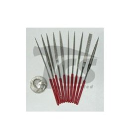Just Sculpt Small Diamond Needle File Set Fine 10pc