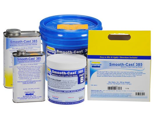 Smooth-On Smooth-Cast 385 Gallon Kit Special Order
