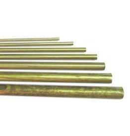 K & S Engineering Solid Brass Rod 1/4'' x 36'' #1165