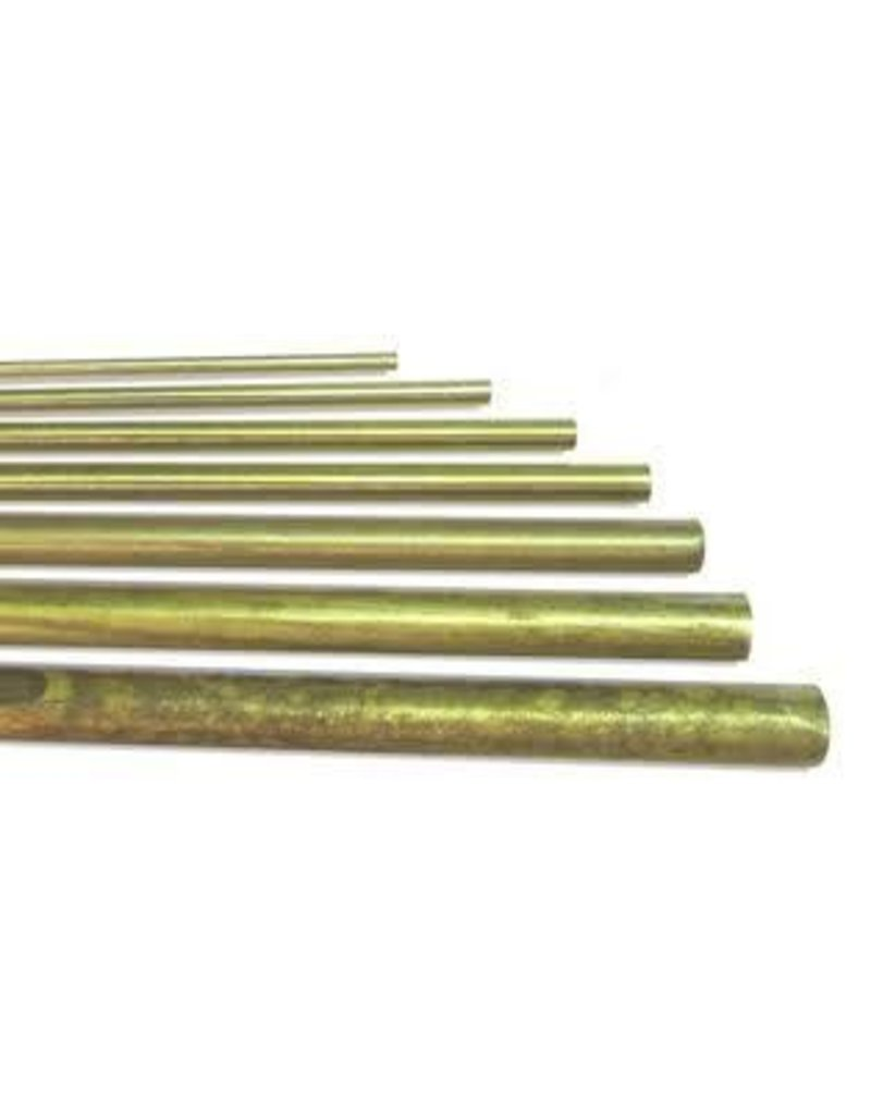K & S Engineering Solid Brass Rod 1/8'' x 36'' #1162
