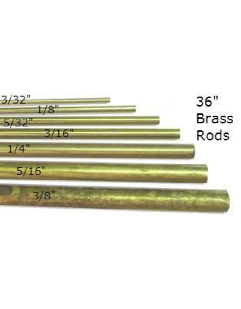 K & S Engineering Solid Brass Rod 3/16'' x 36'' #1164