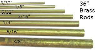 K & S Engineering Solid Brass Rod 3/8'' x 36'' #1167