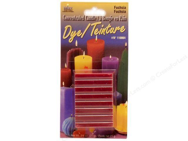 Yaley Enterprises Solid Wax Dye Fuchsia