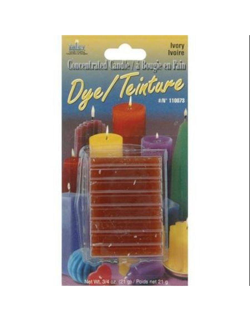 Yaley Enterprises Solid Wax Dye Ivory