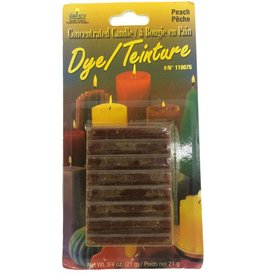 Yaley Enterprises Solid Wax Dye Peach