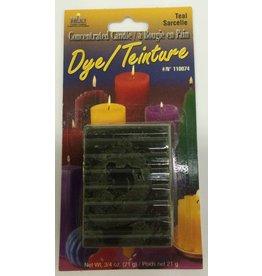 Yaley Enterprises Solid Wax Dye Teal