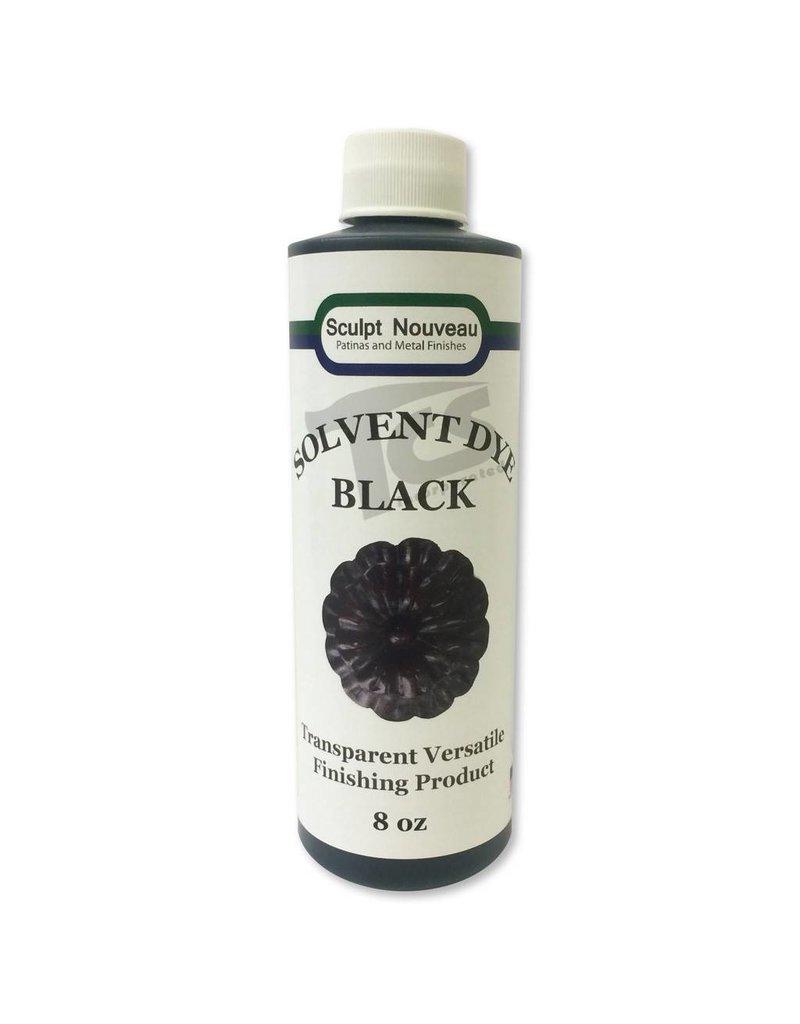 Sculpt Nouveau Solvent Dye Black 8oz