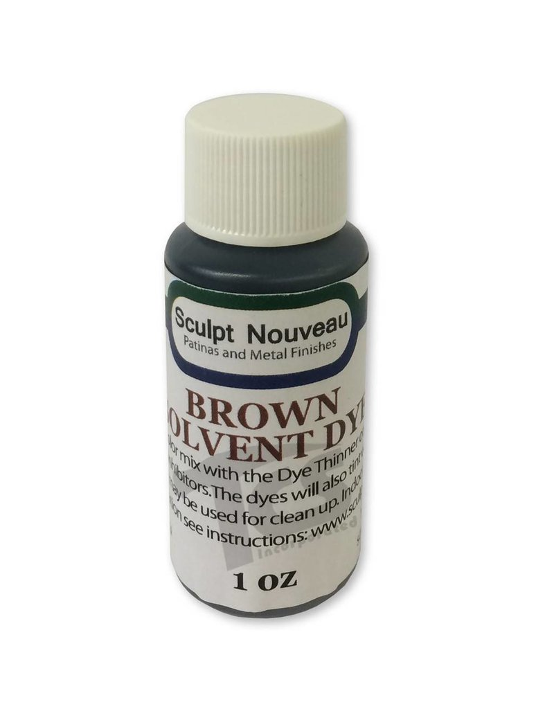 Sculpt Nouveau Solvent Dye Brown 1oz