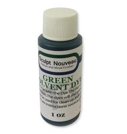 Sculpt Nouveau Solvent Dye Green 1oz